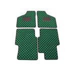 ローバーMINI専用 フロアマット チェッカー【グリーン×ブラック】(日本製)